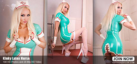 Kinky Latex Nurse