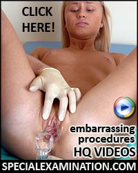 Embarrassed nude women doctor gyno exam videos.