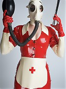 Medical fetishism in Latex