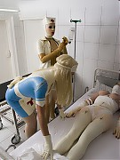 Operation to get a real rubberdoll