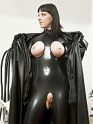 Visit in demonic rubber clinic to discover the reason for her gyno problem